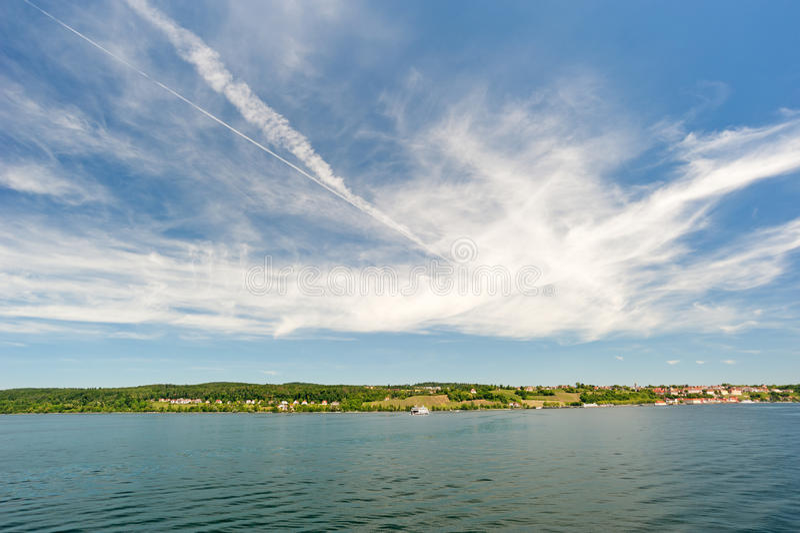 Lago Constance fotografia de stock