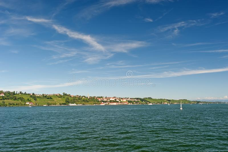 Lago Constance, Alemanha imagem de stock