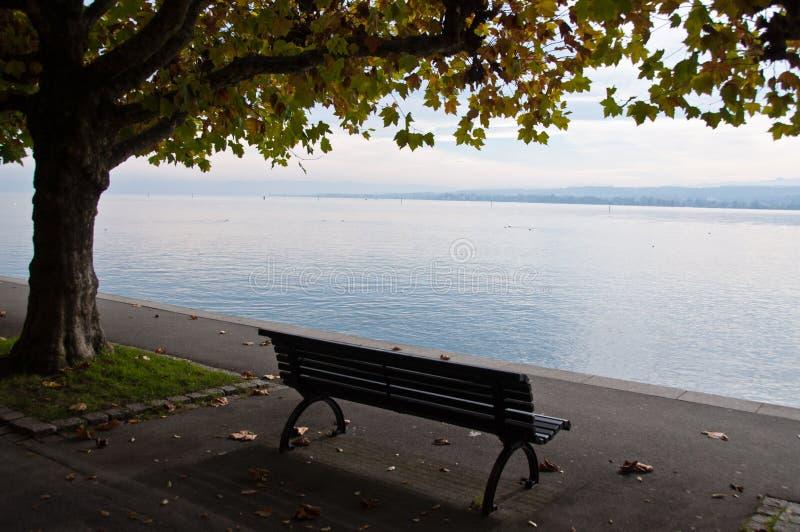 Lago Constance en caída imagen de archivo libre de regalías
