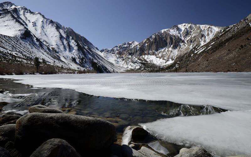 Lago convict, Califórnia, EUA imagem de stock