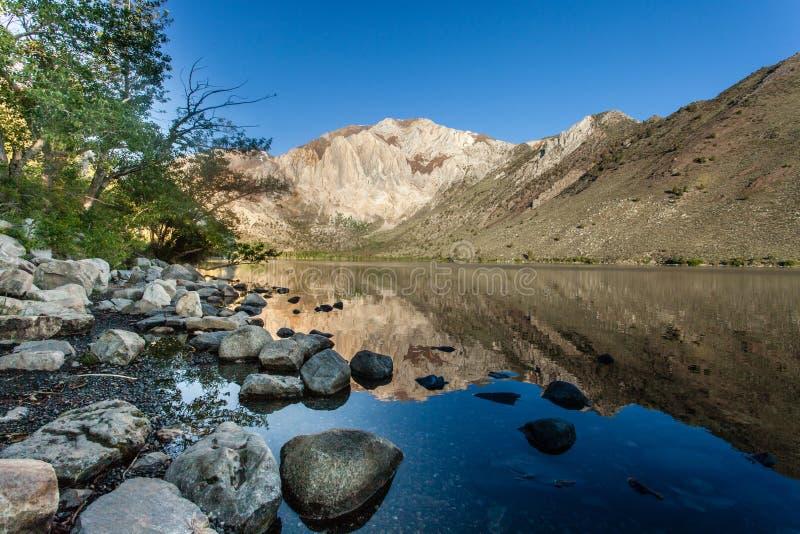 Lago Convict, California fotografía de archivo