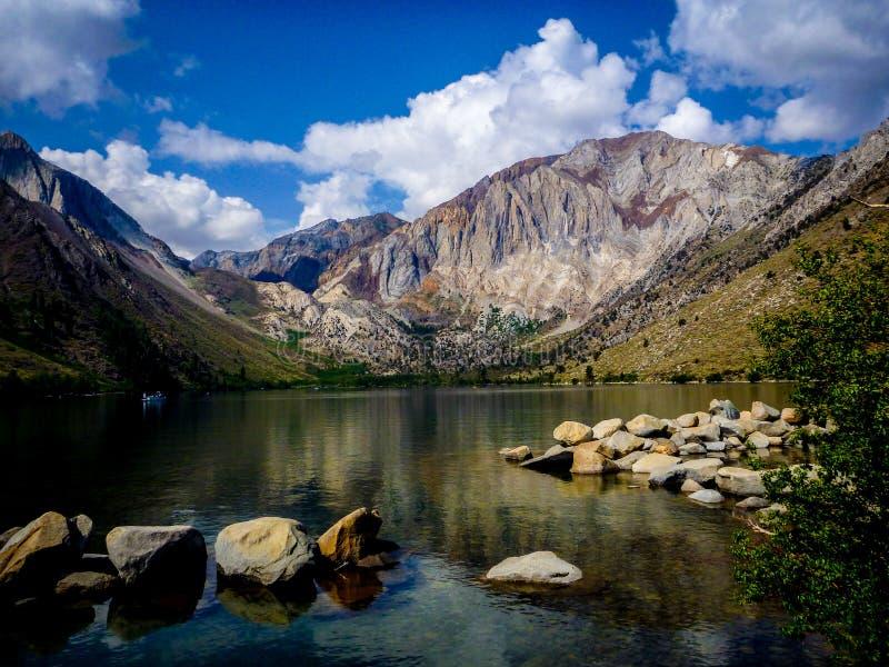 Lago Convict, California imagen de archivo