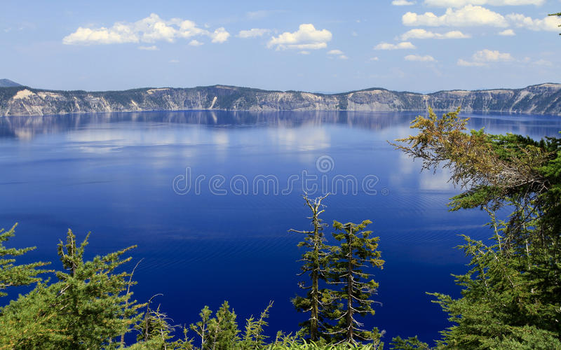 Lago crater fotografia de stock