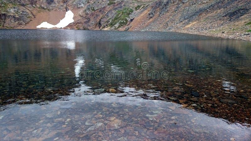 Lago crater imagen de archivo libre de regalías