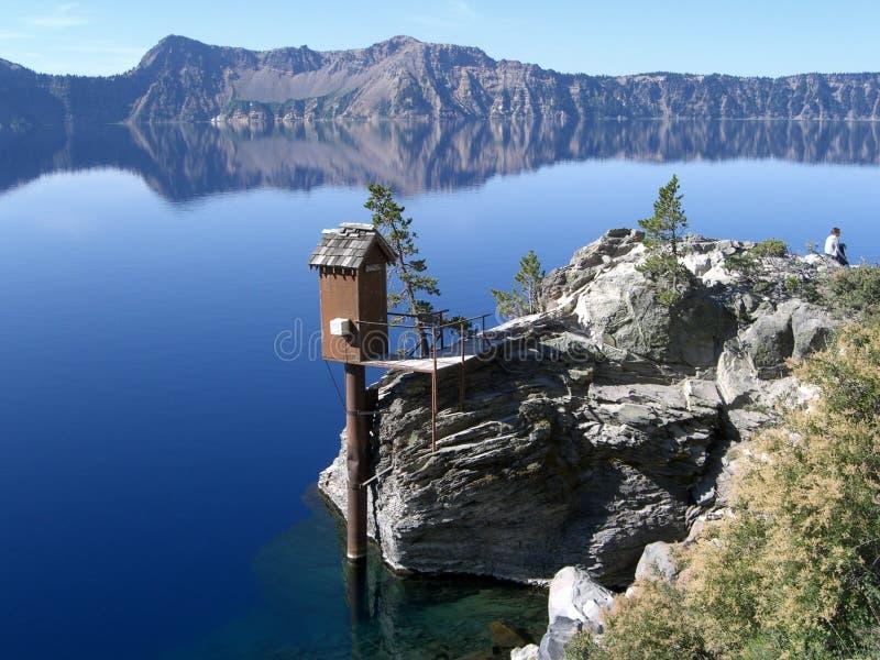 Lago crater, Oregon imagens de stock royalty free