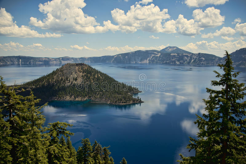 Lago crater, Oregon immagine stock