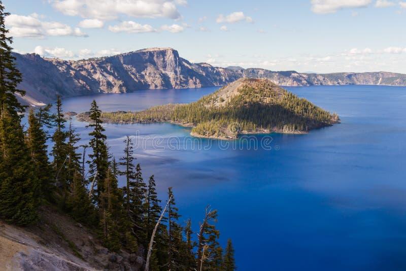 Lago crater, Oregon fotografia de stock royalty free