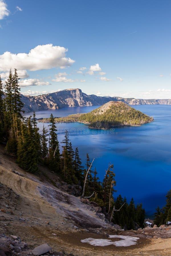 Lago crater, Oregon fotos de stock