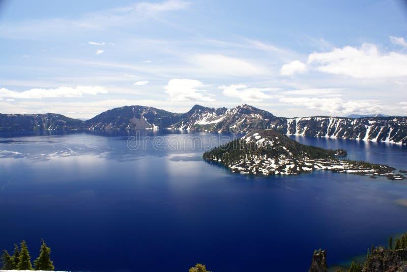 Lago crater, Oregon, los E.E.U.U. fotos de archivo libres de regalías