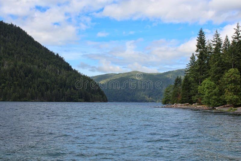 Lago crescente foto de stock
