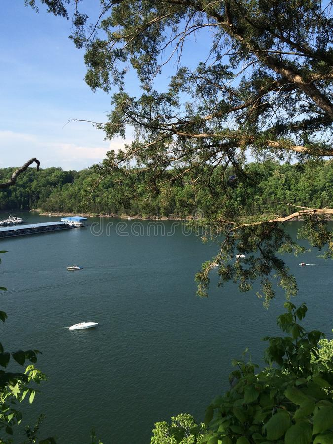 Lago cumberland imagens de stock