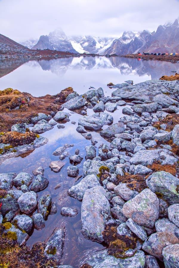 Lago CuoxueRenma fotos de archivo libres de regalías