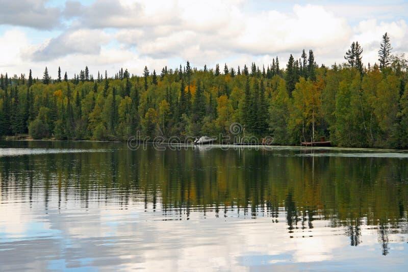 Lago d'Alasca immagine stock libera da diritti