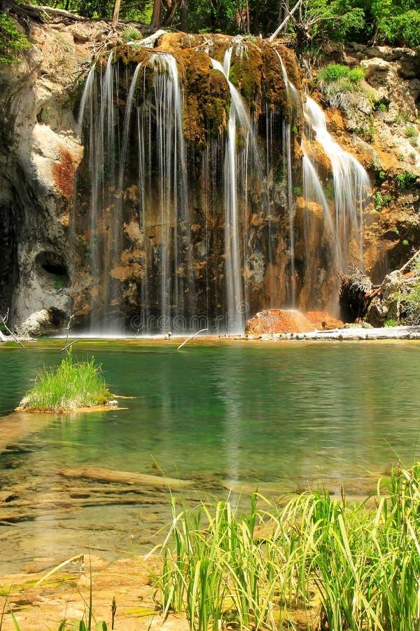 Lago d'attaccatura, canyon di Glenwood, Colorado fotografia stock