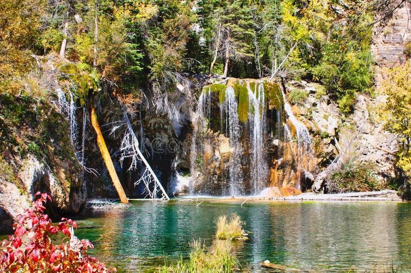 lago d'attaccatura in colorado fotografie stock