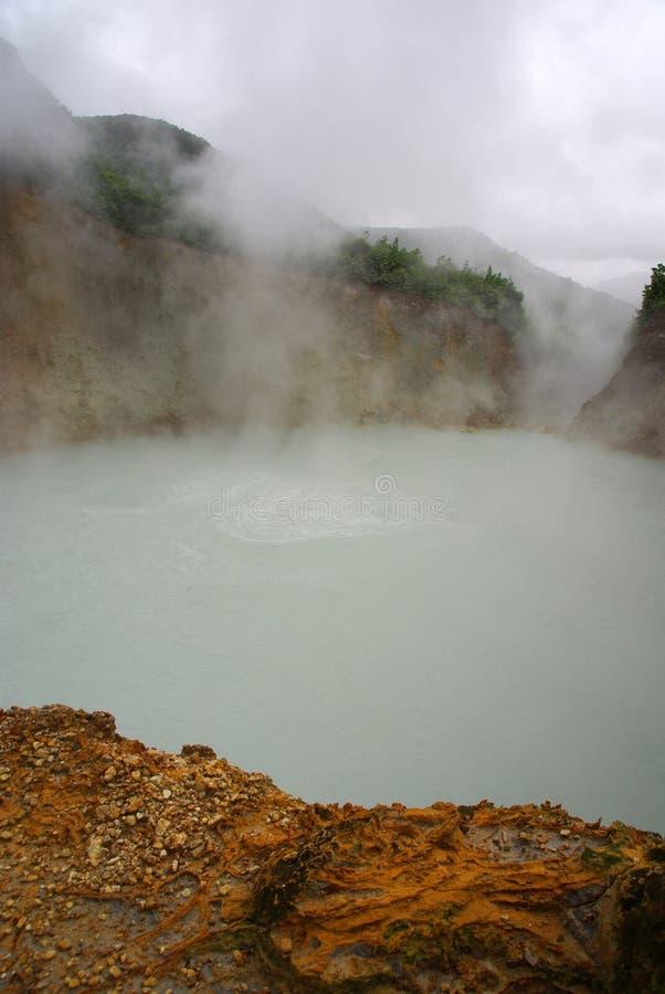 Lago d'ebollizione fotografia stock libera da diritti