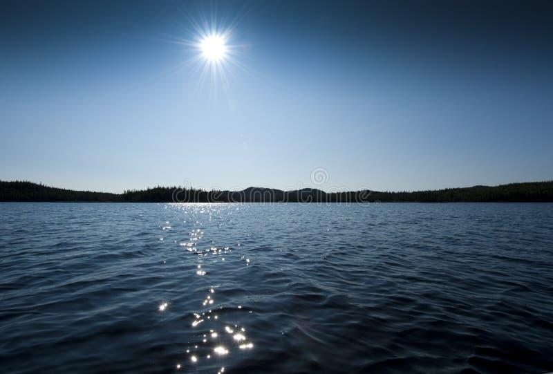 Lago da água fresca foto de stock