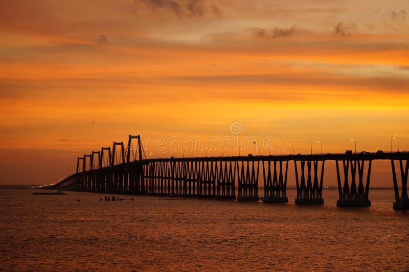 Lago de Маракайбо el sobre Puente стоковые фотографии rf