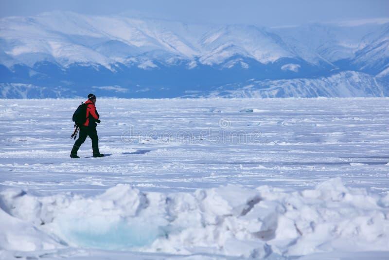 Lago de Baikal foto de stock