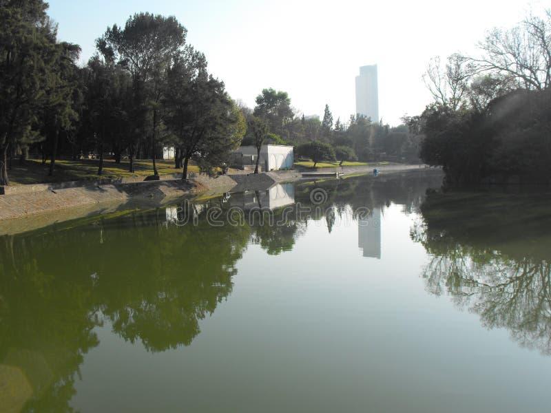 Lago de chapultepec στοκ φωτογραφίες