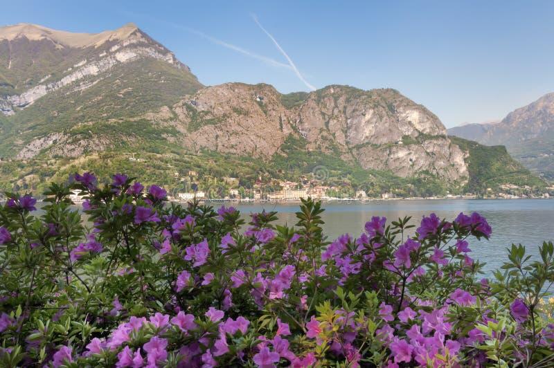 Lago de Como foto de archivo libre de regalías