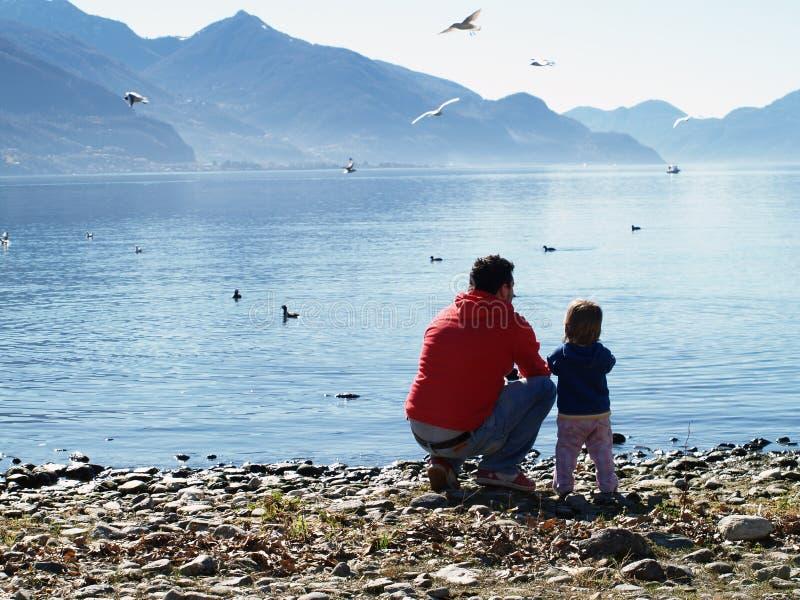 Lago de Como - Italia foto de archivo