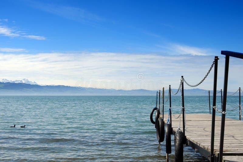 Lago de Constance imagem de stock royalty free