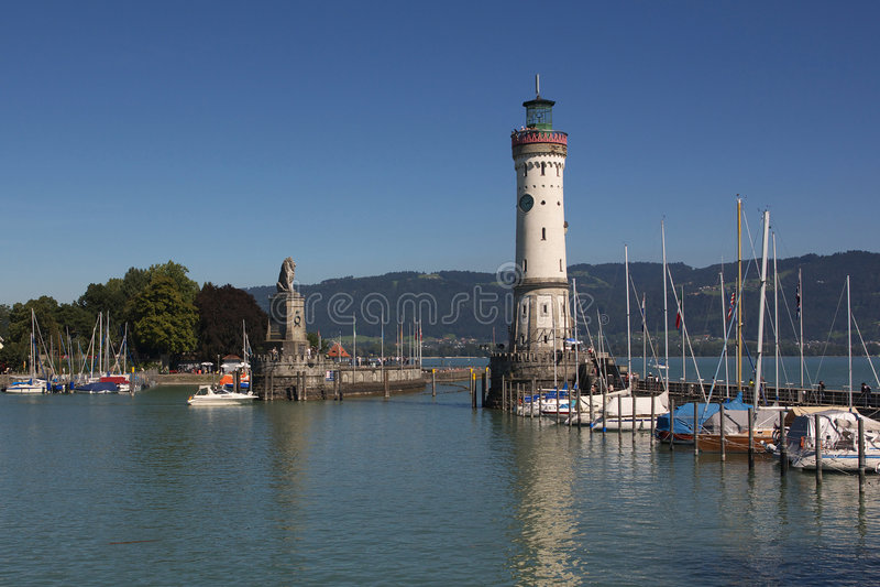 Lago de Constance foto de stock