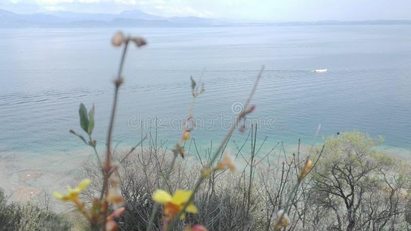 Lago de Garda foto de stock