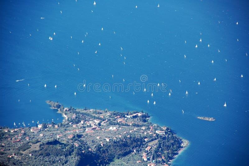 Lago de Garda, Italia foto de archivo