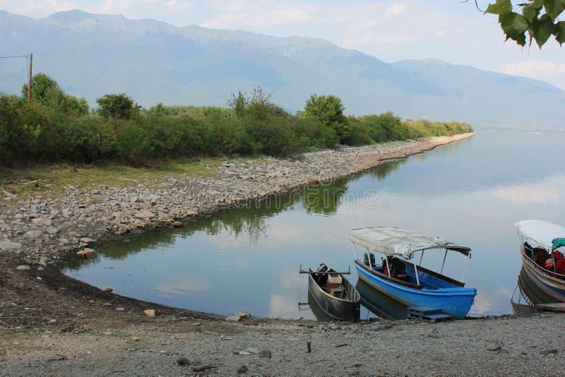Lago de Kerkini Serres Grecia foto de archivo