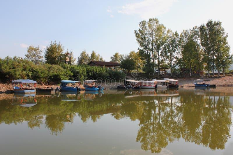 Lago de Kerkini Serres Grecia fotos de archivo libres de regalías