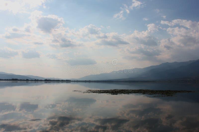 Lago de Kerkini Serres Grecia foto de archivo libre de regalías