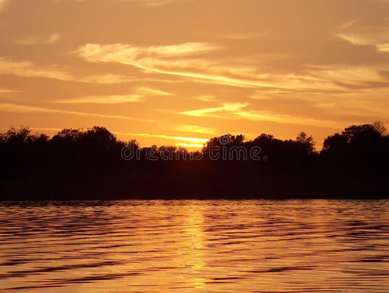 Lago de oro fotos de archivo libres de regalías
