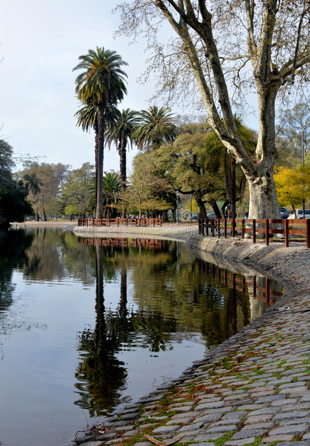 Lago de Palermo imagenes de archivo