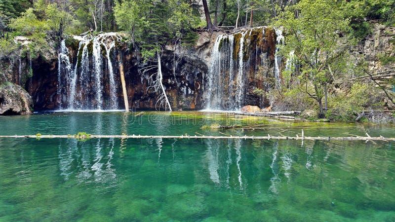 Lago de suspensão fotos de stock royalty free