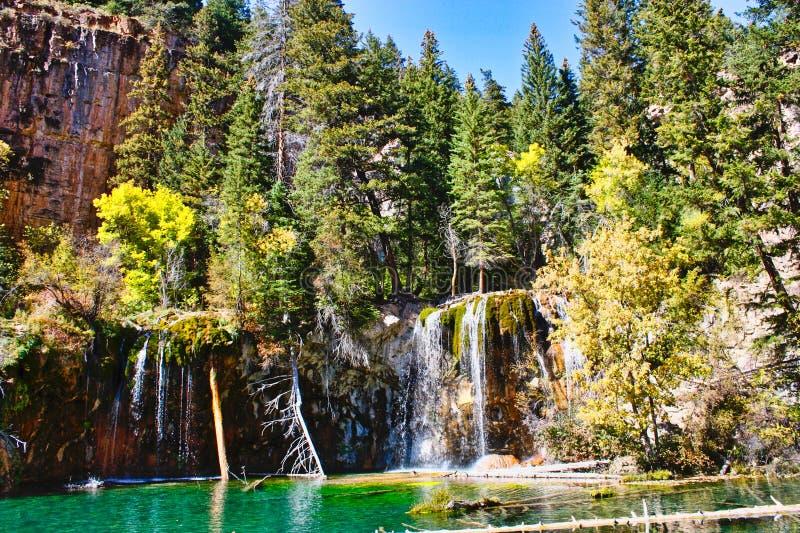 Lago de suspensão perto de Glenwood Springs imagem de stock royalty free