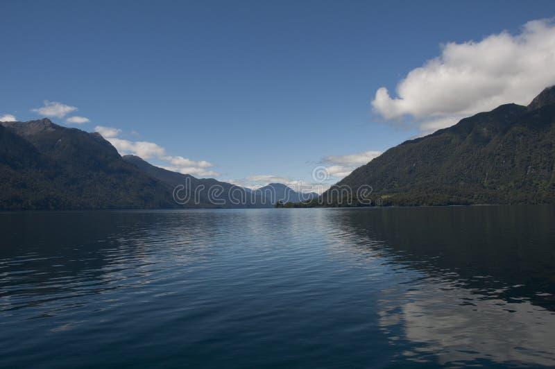 Download Lago De Todos Los Santos With Snowy Volcano Stock Photo - Image: 67655592