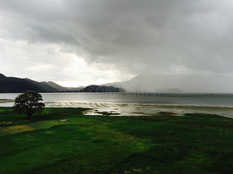 Lago de yojoa photographie stock