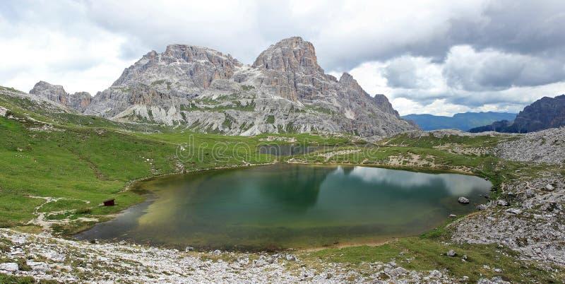 Lago dei Piani fotografia stock