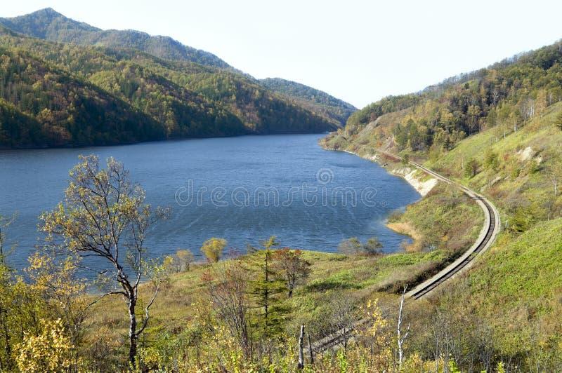 Lago del almacenaje del agua imagen de archivo libre de regalías