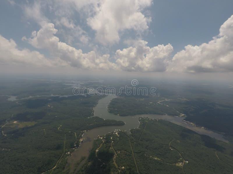 Lago del Ozarks Missouri imagenes de archivo