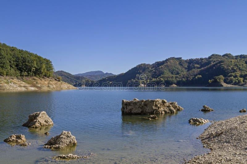 Lago del Salto imagem de stock