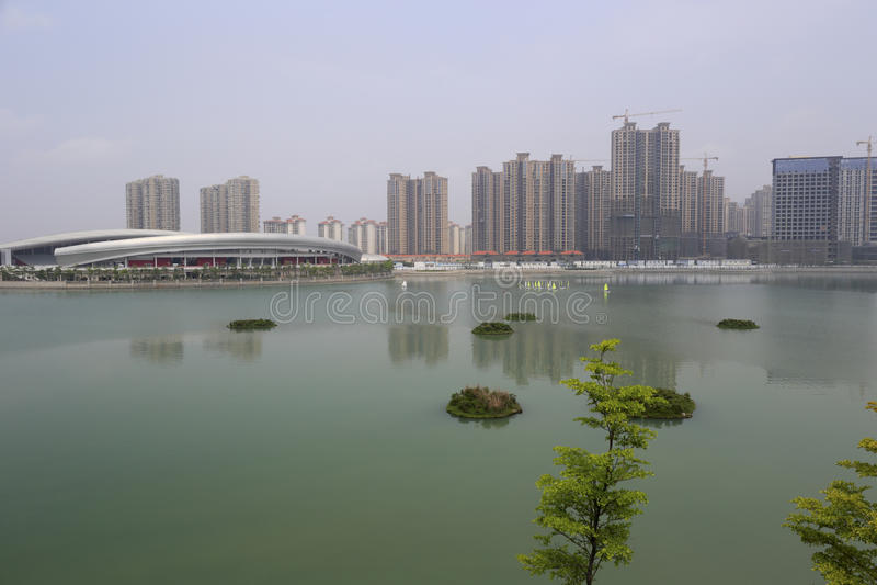 Lago del sud del haicang fotografia stock libera da diritti