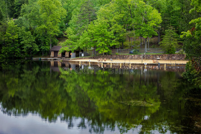 Lago del sud summer fotografia stock