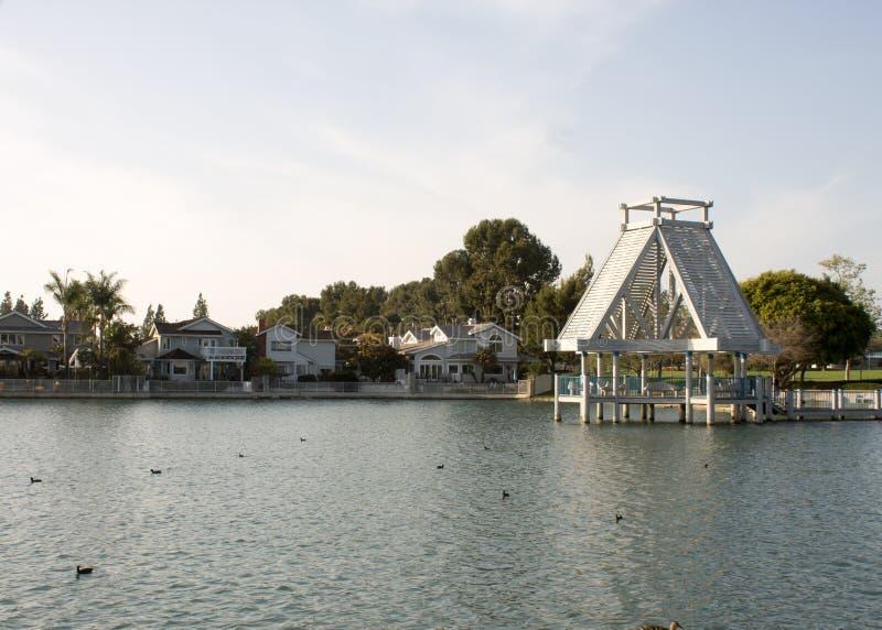 Lago del sur, Irvine, CA imagen de archivo