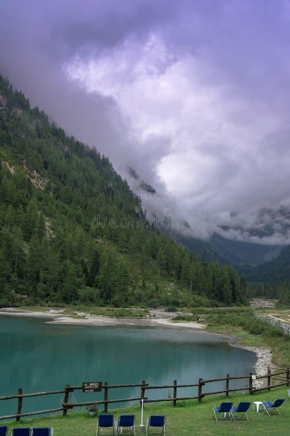 Lago delle przeznaczenie zdjęcia stock