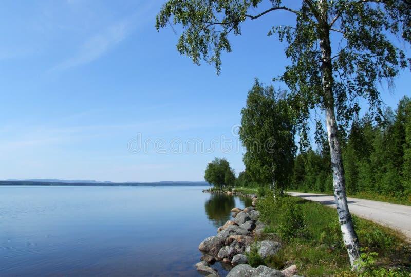 Lago Dellen imagens de stock