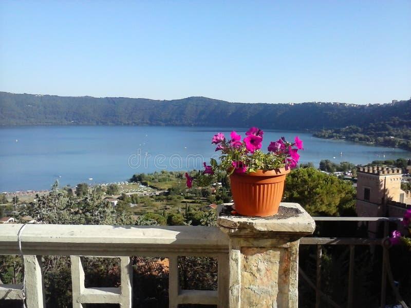Lago di albano fotografie stock libere da diritti