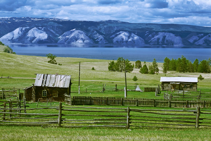 Lago di Baikal immagini stock